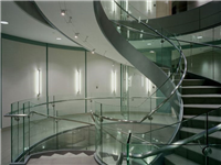 圆弧玻璃幕墙怎么放线竖料  白玻璃怎么处理能变成磨砂玻璃