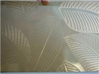 玻璃蚀刻生产工艺  磨石玻璃和刻花玻璃区别