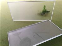 磨砂玻璃的制作方法  浮法玻璃的生产方法