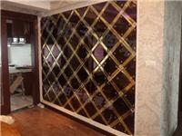 艺术玻璃微晶石做电视背景墙有哪些优势  立体玻璃背景墙的特点