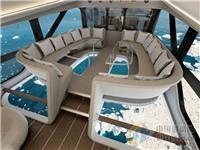 飞机内部改进,用透明玻璃地板,你敢坐?
