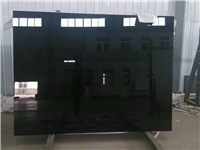 黑色烤漆玻璃  烤漆玻璃材质特点