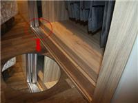 衣柜玻璃推拉门怎么安装  玻璃移门安装方法