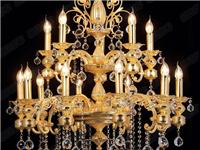 水晶玻璃是什么  欧式客厅水晶吊灯如何选购