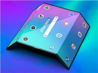 小米重磅旗舰高清渲染图曝光:这就是全球首款双折叠手机的颜值?