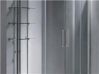 玻璃淋浴房该怎么安装  玻璃门锁安装方法