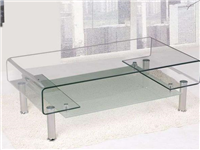 热弯玻璃有哪些用处  玻璃家具该如何保养
