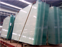 平板玻璃的生产成型方法  玻璃材料的主要化学成分