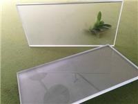 蒙砂玻璃的生产工艺流程  磨砂玻璃常用于哪些地方
