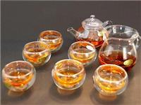 玻璃茶具拥有着哪些特点  玻璃茶壶内部茶垢清除法