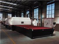 玻璃钢化机组的主要组成  玻璃钢化炉钢化处理原理