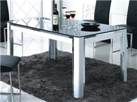玻璃餐桌怎样做日常保养  钢化玻璃桌使用注意事项