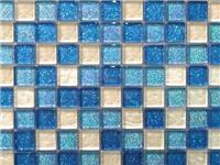 玻璃锦砖特性与烧结工艺  玻璃锦砖拼贴施工的过程