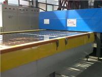 强制对流玻璃钢化炉简介  钢化玻璃生产加工的原理