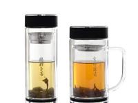双层玻璃杯子有什么优点  双层玻璃杯有什么特点呢