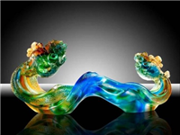 玻璃与琉璃的区别是什么  热成型琉璃制作工艺步骤