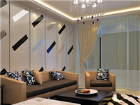 玻璃拼镜背景墙效果如何  为什么常用玻璃做背景墙