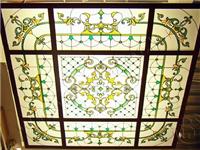 彩绘玻璃的加工制作流程  艺术玻璃分成了哪些种类