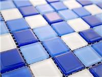 玻璃马赛克拼贴施工步骤  黑色玻璃砖装饰效果好吗
