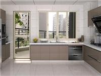 厨房橱柜用玻璃门好不好  橱柜玻璃门安装施工方法
