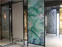 艺术玻璃隔断装修多少钱  阳台适合使用有色玻璃吗