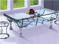 玻璃家具常用材料的种类  家具玻璃面有何保养常识