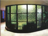 有哪些常见艺术装饰玻璃  磨砂玻璃和刻花玻璃区别