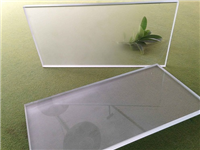 磨砂玻璃化学制造的方法  玻璃喷砂工艺所需的设备