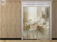 艺术玻璃移门的价格高吗  门窗玻璃密封条功能特点