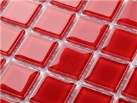 玻璃马赛克通常多厚规格  水晶玻璃马赛克怎么施工