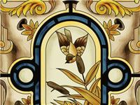 玻璃装饰画装饰效果如何  玻璃装饰画的种类和特点