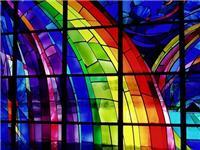 彩色玻璃的制造工艺过程  彩绘玻璃具有什么优缺点