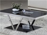 客厅玻璃茶几适合的桌布  玻璃家具茶几的保养方法
