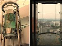 电梯可以使用玻璃外罩吗  观光电梯玻璃外罩的优点