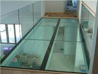 钢化玻璃做地板有何优点  钢化玻璃地板用什么支架