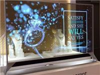 如何选择透明显示玻璃屏  LED透明屏和玻璃屏的区别