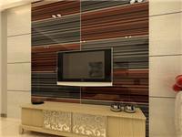 立体玻璃背景墙效果如何  该如何制造艺术彩晶玻璃