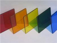 给玻璃内部做染色的方法  彩色镶嵌玻璃的制作方法