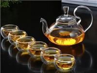 玻璃茶具生产原料与特点  玻璃茶具的吹制生产工艺