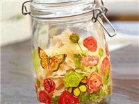 玻璃瓶是如何喷涂花纹的  废旧玻璃瓶怎么回收利用