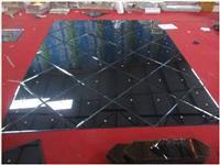 玻璃拼镜的施工安装技巧  艺术玻璃拼镜是什么装饰