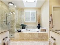 浴室玻璃门有何清洁方法  淋浴房玻璃水渍怎么清除
