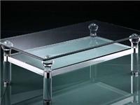 钢化玻璃茶几可以修补吗  钢化玻璃家具要怎么保养