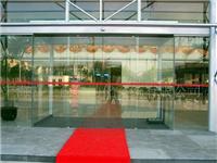 自动玻璃门组成部件材料  地弹簧玻璃门要怎么拆卸