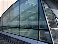 玻璃感应门的特点与应用  玻璃隔热膜内部结构组成