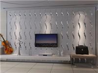 艺术玻璃拼镜的装饰特点  艺术玻璃背景墙效果如何