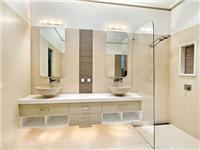 卫生间玻璃隔断墙怎么做  浴室玻璃隔断要怎么保养