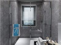 卫生间玻璃隔断怎么安装  玻璃隔断干湿分离有效吗