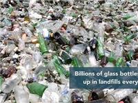 玻璃瓶回收再利用的方法  废玻璃转型再利用的方法