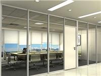 办公室玻璃隔断分哪几种  办公室玻璃隔断有何作用